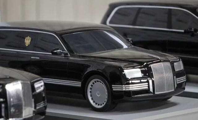 Russian President's car