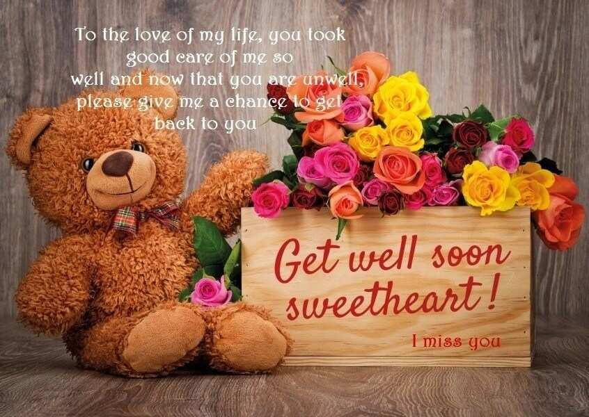 hope u feel better soon, get better soon message, feel good messages