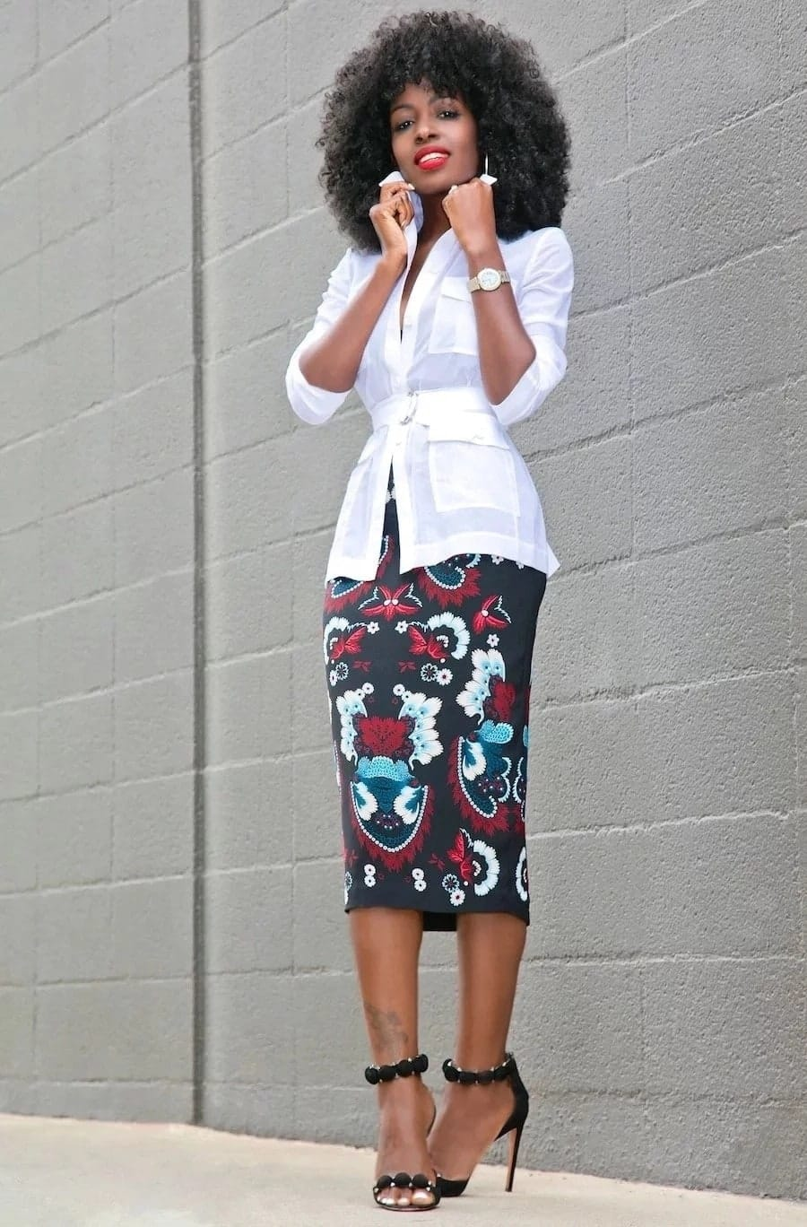 african skirts patterns