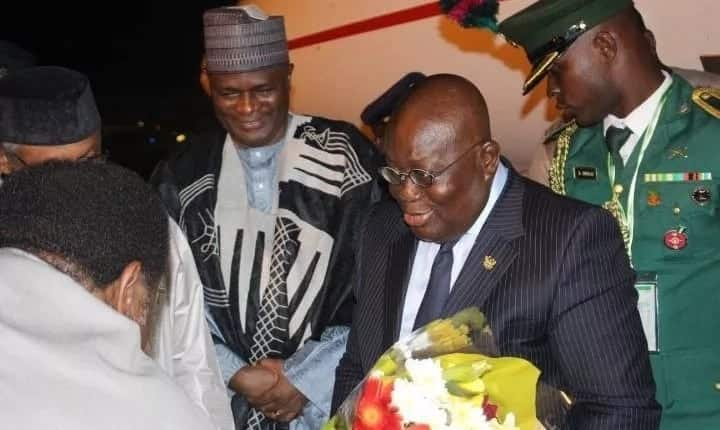 President Akufo-Addo in Nigeria for ECOWAS Summit