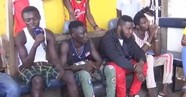 Old Fadama boys reveal how tramadol makes them high and stronger in bed