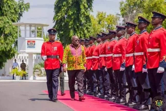 Photos: 5 times Akufo-Addo didn't look overweight as reported by New York Times