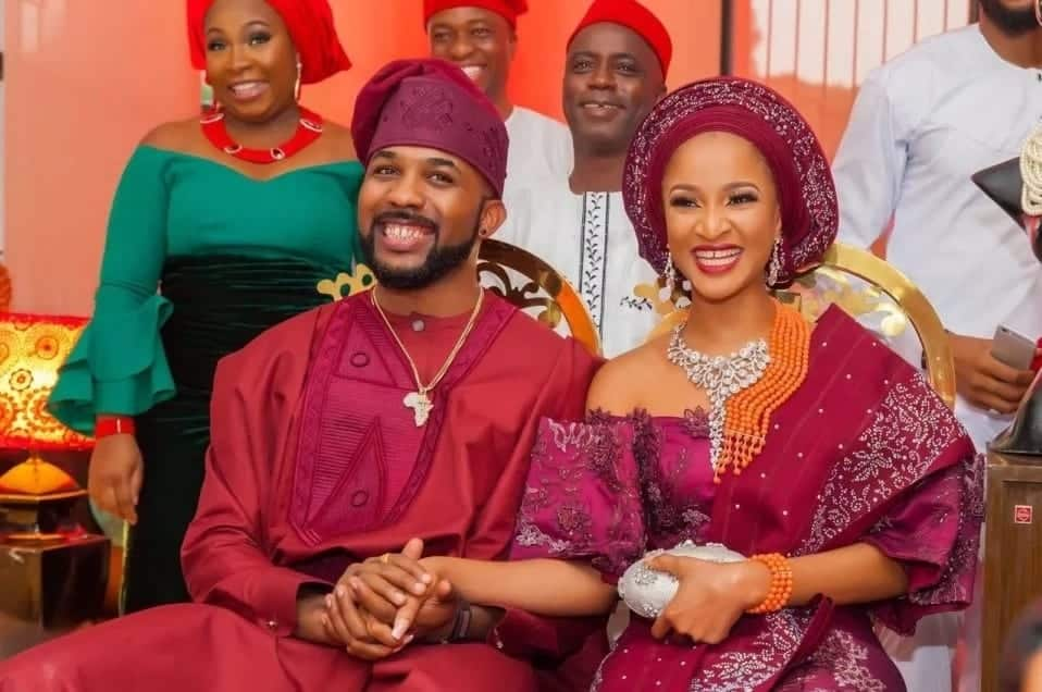 Banky W accidentally shares naked photo of wife on social media