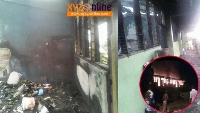 Fire destroys boys dormitory at KOSS