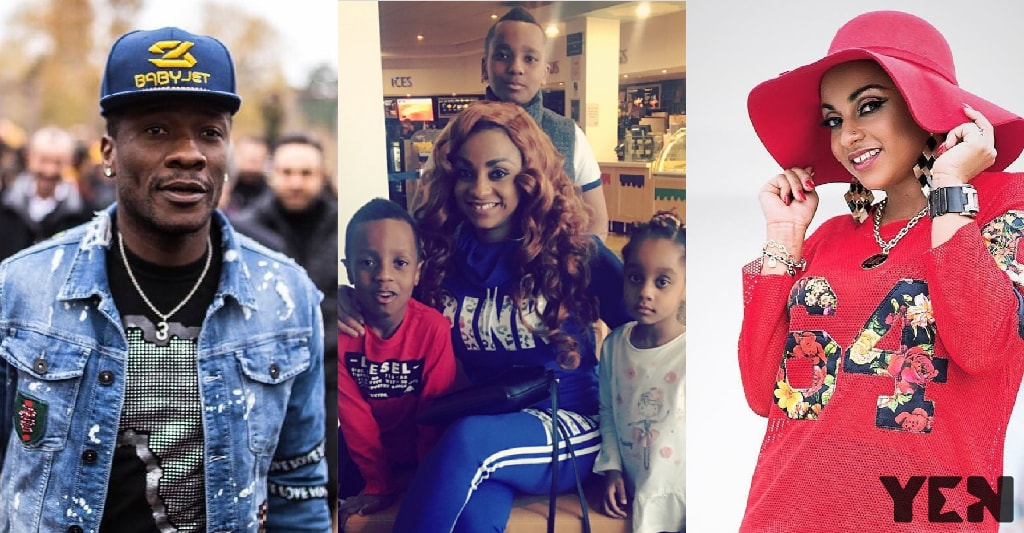 Asamoah Gyan's wife demands maintenance expenses for kids and herself