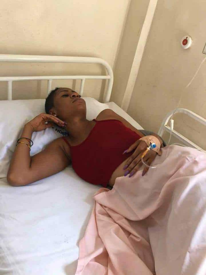 Last video of Charlotte Abena Woodey before her mysterious death