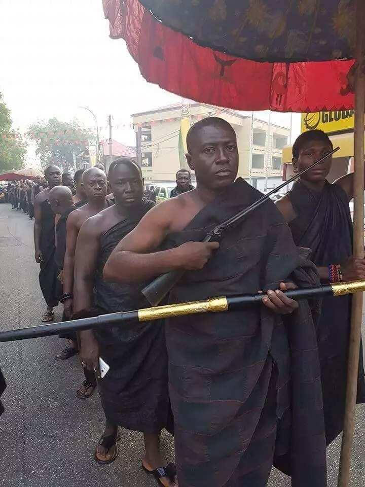 Photos from Asantehemaa's funeral