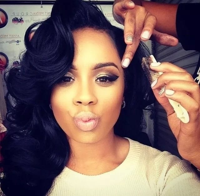 finger waves hairstyles pictures finger waves for black hair finger waves for very short hair