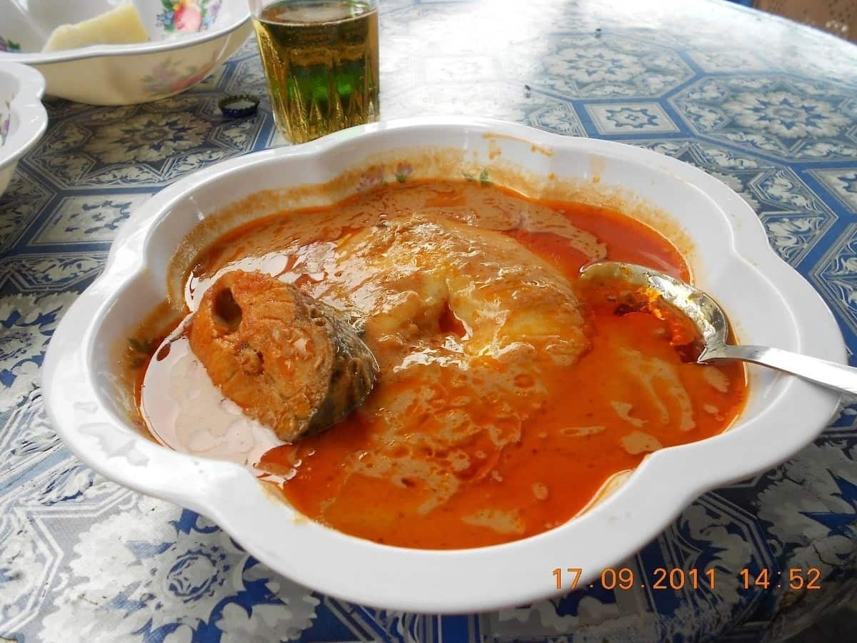 Best fufu and groundnut soup recipe in Ghana