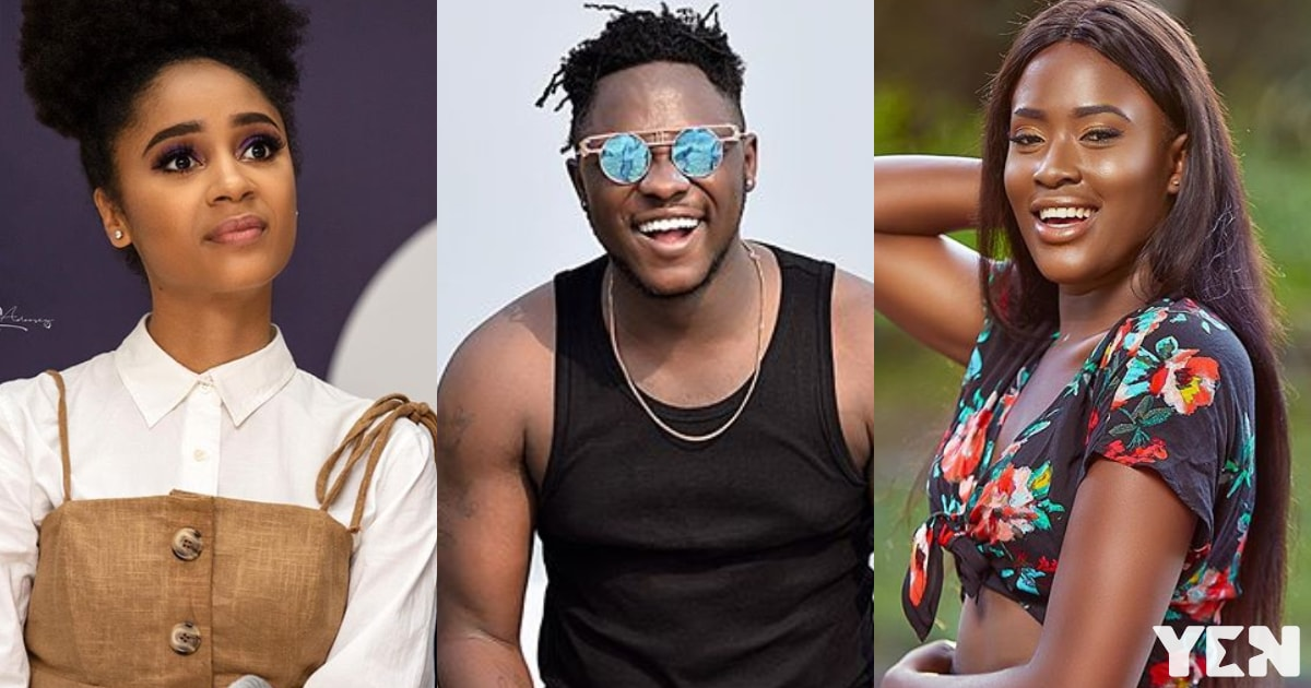 Sister Derby tells real age difference with Medikal in lovely throwback video