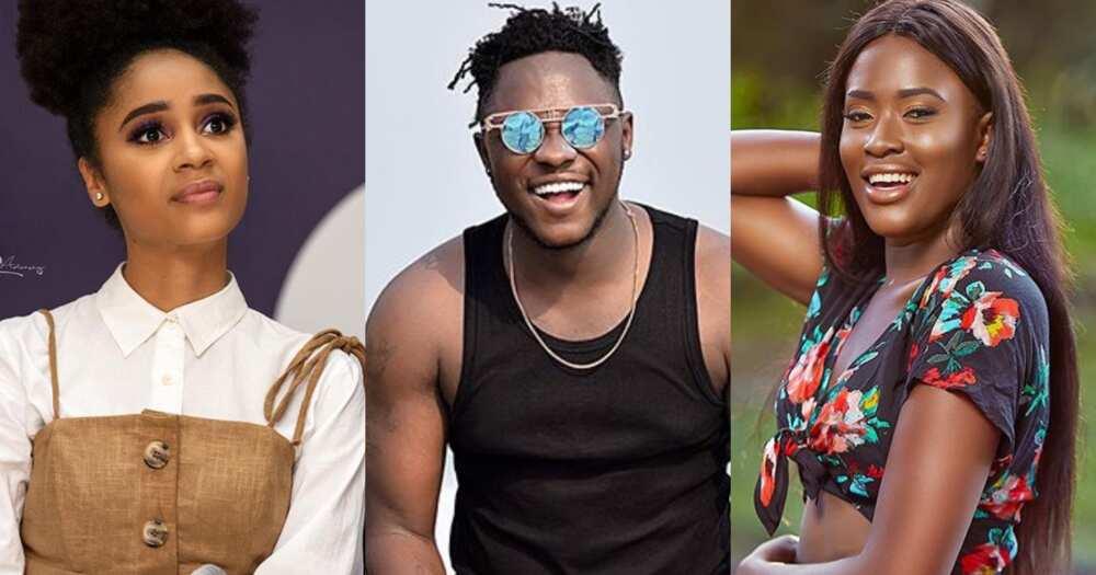 Fella Makafui reacts to Sister Deborah's Sweet Ex song to her husband Medikal