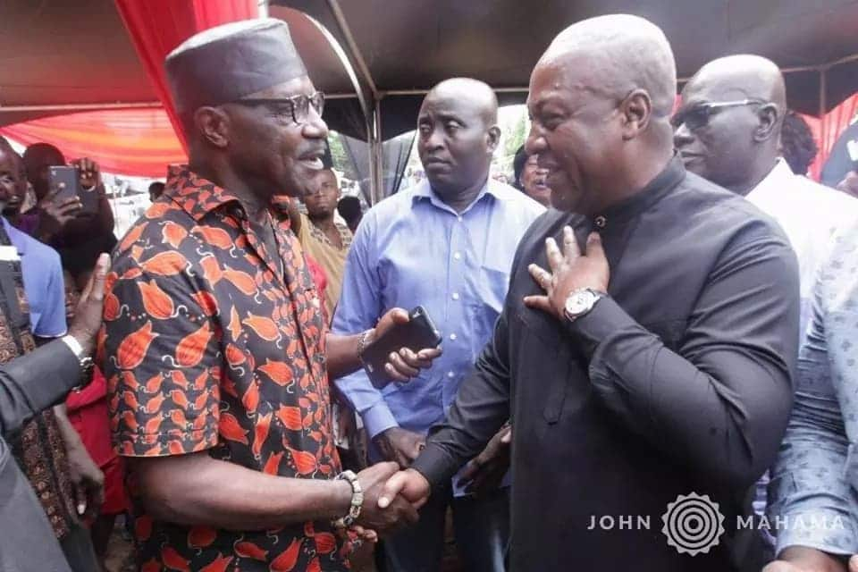 "Photos: Mahama attends Jewel Ackah's ""one week observance"" event"