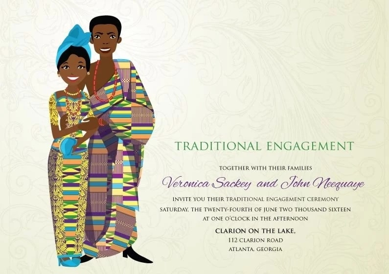 Traditional Wedding Cards Designs Ghana Yen Com Gh