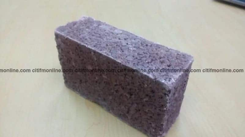 22-year-old university student produces paper-made bricks