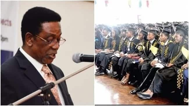 Pick up your own destinies; gov't can't employ you – Prof Yankah tells graduates