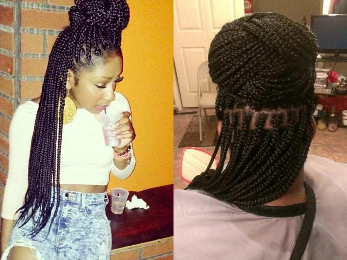 Best box braids hairstyles in Ghana 2018 ▷ YEN.COM.GH