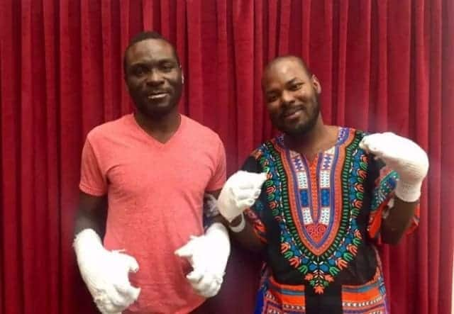 Ghanaian who lost his fingers crossing Canadian border receives refugee status