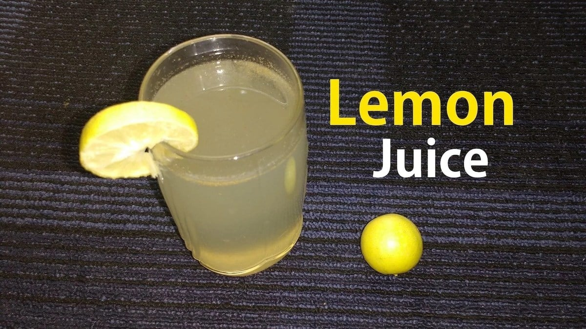 How to lose weight with lemon juice