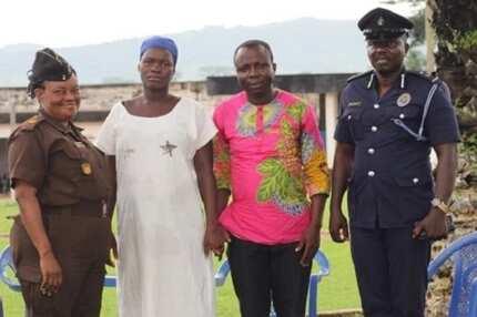 Prof. Mike Oquaye sets 5-month-old pregnant prisoner free
