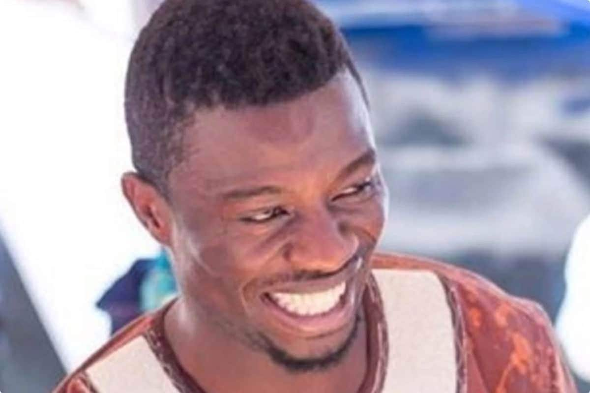 Ghanaian actor with wide smile