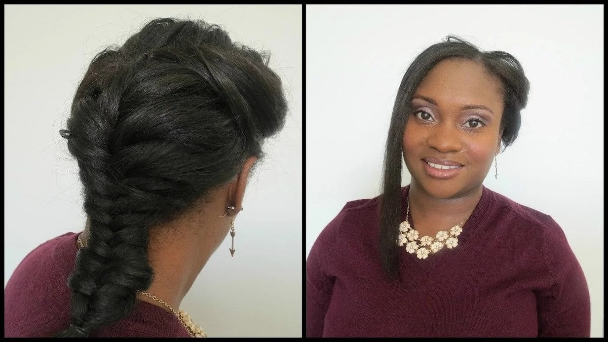 Easy hairstyles for natural hair Natural hairstyles for medium length hair Cornrow hairstyles for short natural hair