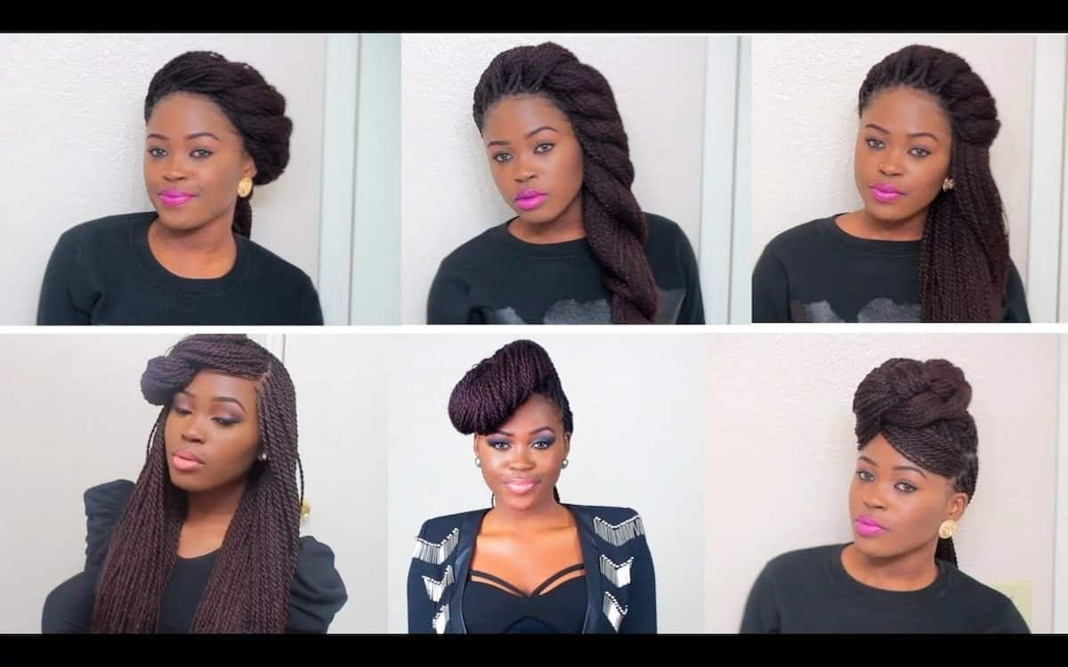 Types of braids in Ghana and how to do them