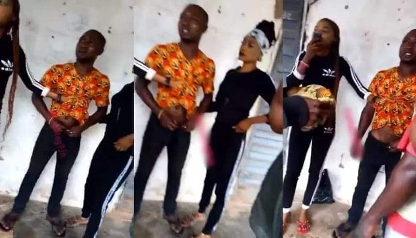 Two prostitutes detain 'Okada' man for trying to abscond after 'service'