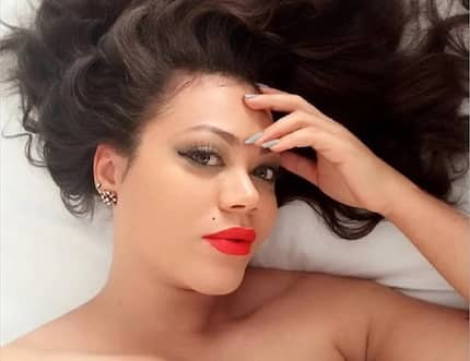Nadia Buari proves she is a super woman in latest all-pink photos with adorable daughter