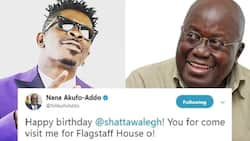 President Akufo-Addo speaks for the first time on his pidgin tweet to Shatta Wale