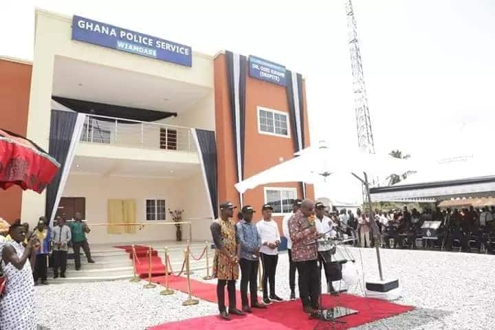 Despite builds ultra-modern Police Station in his hometown