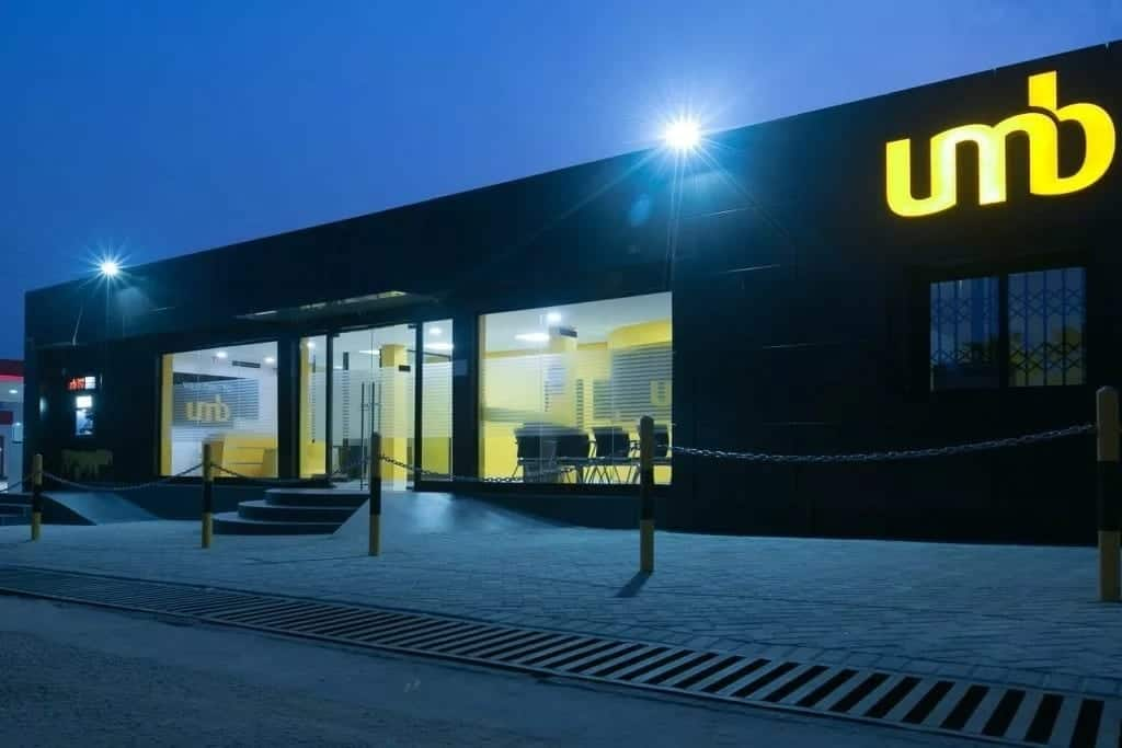 UMB Bank branches in Ghana