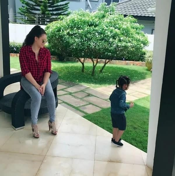 Nadia Buari finally puts photos of her twins on full display