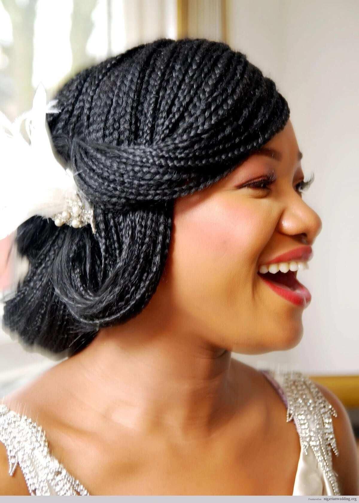 nigerian bridal braids hairstyles, Nigerian braids hairstyles, simple nigerian braids hairstyles