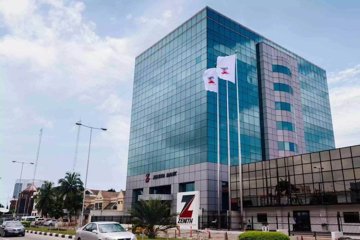 Zenith Bank branches locations in Ghana