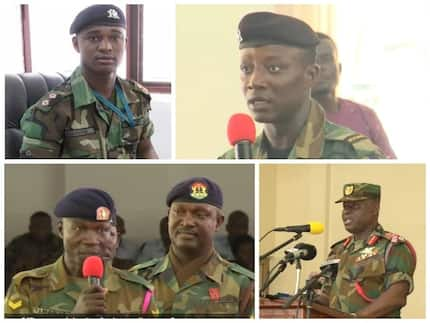 GAF officers unhappy with Cpt Mahama's investigation - CDS Obed Akwa urges all to remain calm