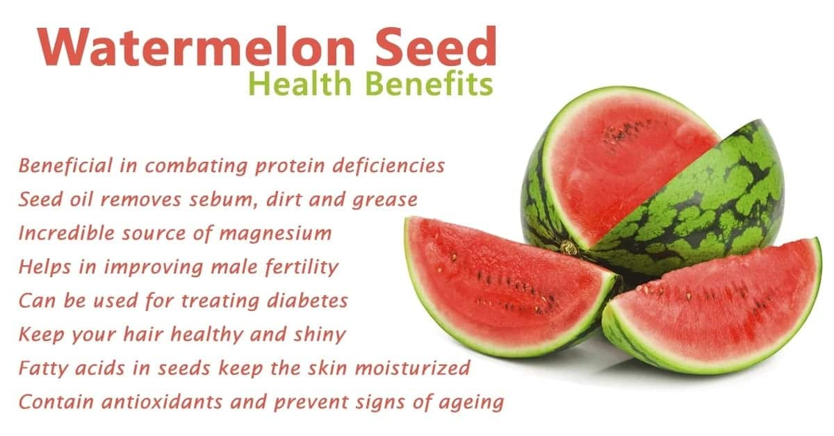 10 Health Benefits of Watermelon Seeds