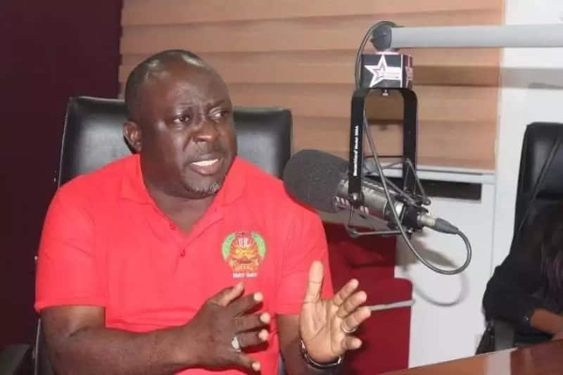 Baba Jamal seriously angry; defends NDC's Appiah Stadium