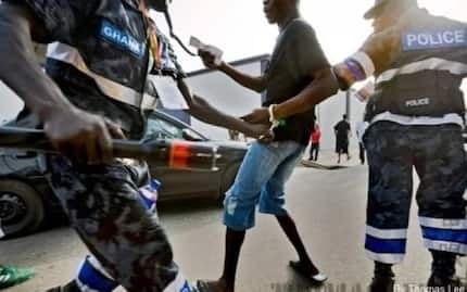 Four Sakawa boys have just been arrested in Takoradi for doing something unimaginable and it will break your heart