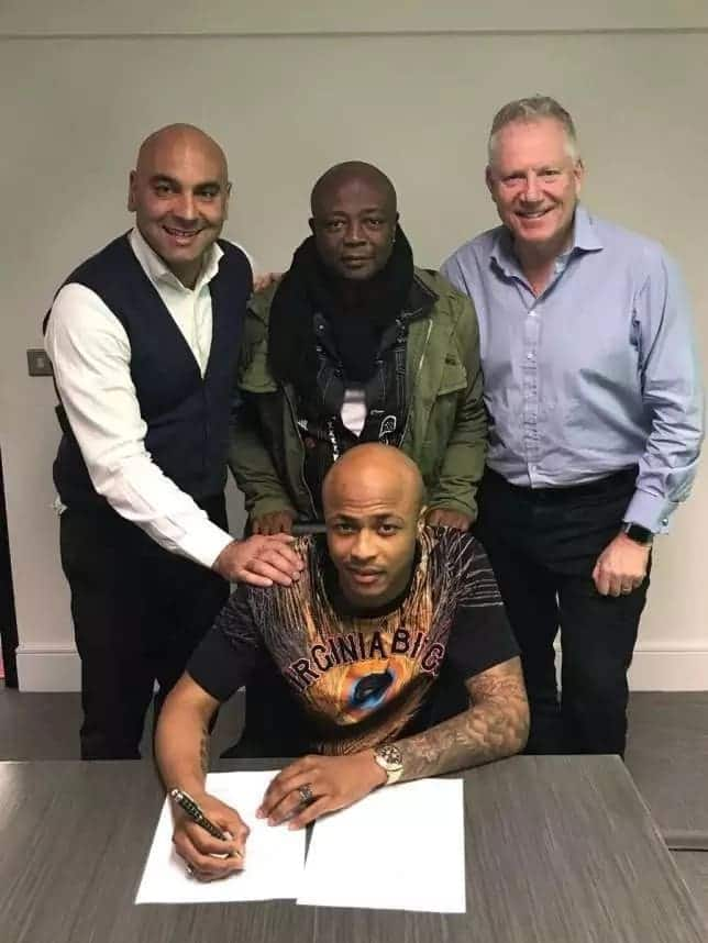 Dede Ayew has rejoined Swansea in a £18m deadline day deal