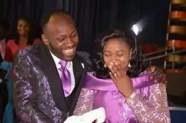Nigerian Pastor gives wife shopping mall, fuel station and Transport Company as birthday gift