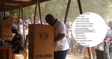 GJA presidential candidate's name replaced with Mahama as allegations of manipulation crop up