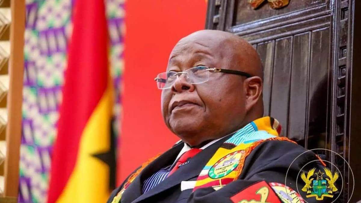 Ghana's Speaker of Parliament, Mike Ocquaye
