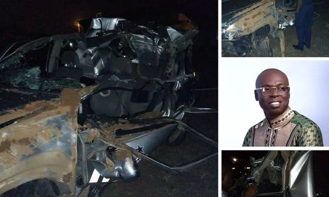 Discharged SP Kofi Sarpong tells how the accident happened