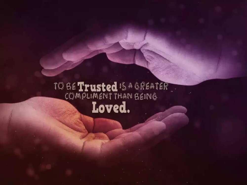 Best Trust Messages for Her ▷ YEN COM GH