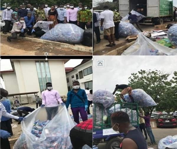 Promoting a culture of waste separation in Ghana: Legon interdenominational church leads the way