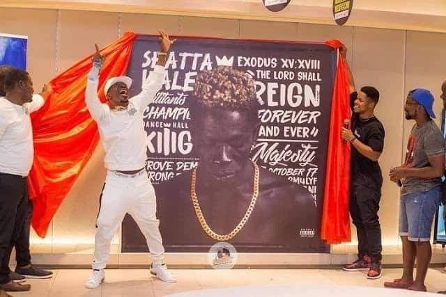 Shatta Wale accused of 'stealing' 'Reign' album cover idea from Rick Ross
