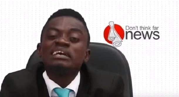 Lil Win forgets acting, ventures into news presenting (Video)