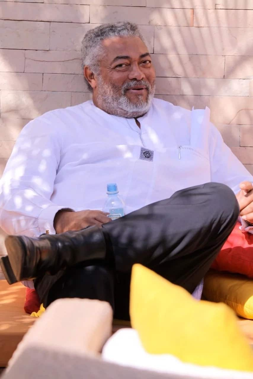 8 times former president Rawlings smiled and warmed our hearts