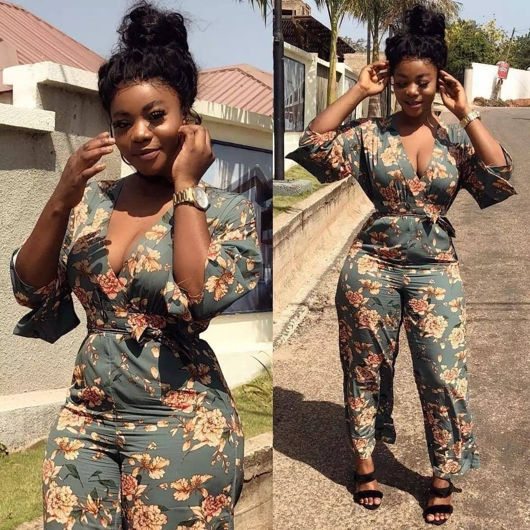 Wild and trending photos of kumawood actress Vivian Okyere