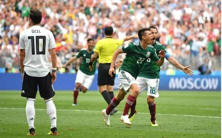 Germany beaten 1-0 by Mexico in World Cup 2018 opener